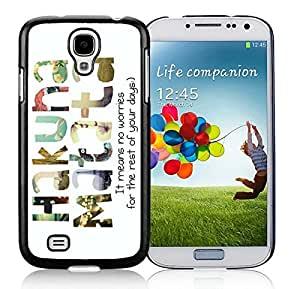 Individual S4 Case Best Samsung Galaxy S4 I9500 Case Black Cover
