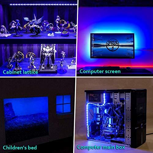 Amazon com: LED Strip Lights,TV Lights USB LED TV Backlight