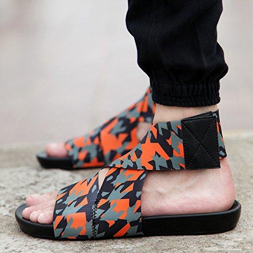 giovane drop and drag leisure marea estivi W estate il sandali maschio fankou spiaggia personalizzata Pantofole cool 8Oq6pp