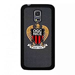 Protect Samsung Galaxy S5 Mini Olympique Gymnaste Club De Nice-C?te D'Azur Funda,Presonized Samsung Galaxy S5 Mini Ogc Nice Funda