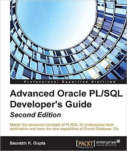 Advanced oracle pl/sql developer's guide (ebook) | pl sql, oracle.