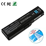 Enegitech Laptop Battery for Toshiba PA3817U-1BRS PA3817U-1BAS PA3818U PA3819U-1BRS Satellite C655 L600 L675 L675D L700 L745 L750 L750D L755 L755D M640 M645 P745, Replacement Battery