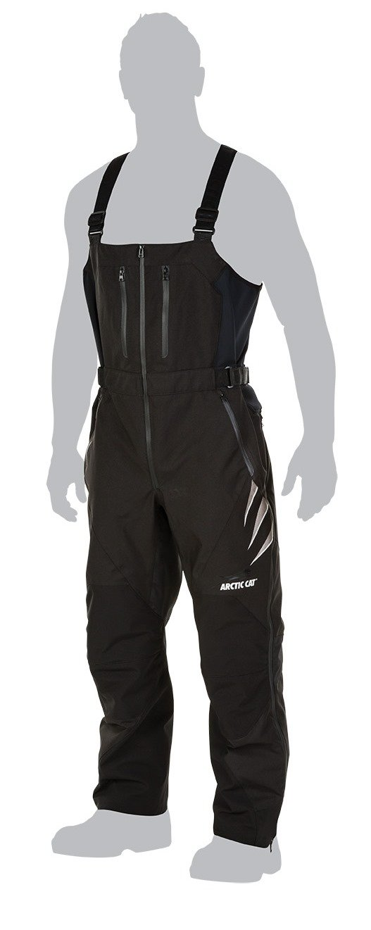 Arctic Cat Mens Pants /& Bibs Black Medium Tall 5260-893