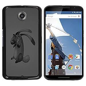 Planetar® ( Evil Dog ) Motorola NEXUS 6 / Moto X / Moto X Pro Fundas Cover Cubre Hard Case Cover