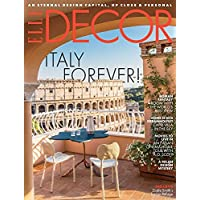 1-Year (9 Issues) of Elle Decor Magazine Subscription