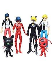 Ladybug 6pcs toy