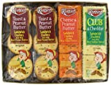 Keebler Sandwich Crackers Variety Pack,  8 - 1.38-Ounce Packages (Pack of 6)