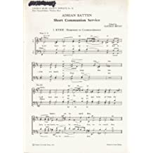 Short Communion Service: Vocal score (Church Music Society publications)