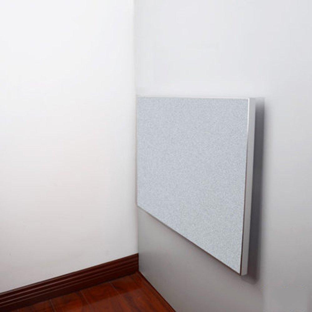 マチョン コンピュータデスク ヨーロッパスタイルの壁のテーブルの折り畳みテーブルの壁のサイドテーブル (色 : 乳白色, サイズ さいず : 80cm*55cm) B07DZNZZWS 80cm*55cm|乳白色 乳白色 80cm*55cm