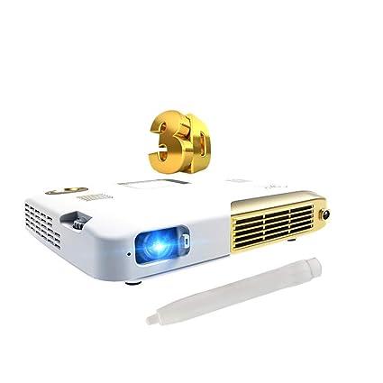 Amazon.com: ILYO Mini DLP Proyector, Inteligente 3D 4K ...