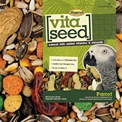 Higgins Vita Seed Natural Parrot 5 lb, Large