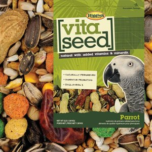 Higgins Vita Seed Natural Parrot 5 lb, Large Higgins Parrot Food