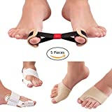 Bunion Corrector for Relief Bunion Pain, Hallux Valgus Correct, Toe Straightening and Alignment,Fits for Women and Man