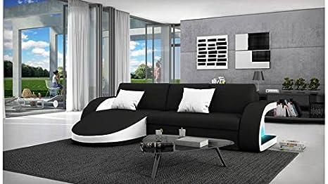 Divano Nero E Bianco : Mobilier nitro divano design convertibile selene nero e bianco