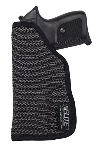 Elite Survival Systems Mainstay Clipless IWB/Pocket Holster Size 2, fits Walther PPK, Colt & Bersa 380