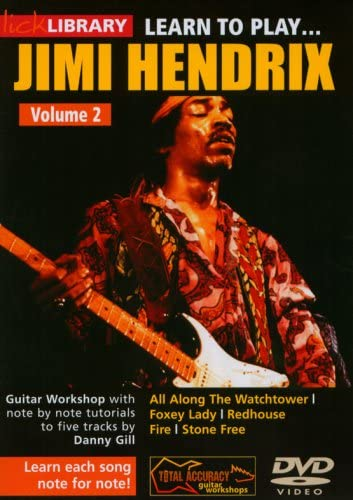 Lick Library: Learn To Play Jimi Hendrix Volume 2. Para Guitarra ...