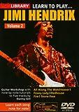 Learn To Play Jimi Hendrix Volume 2 [DVD]