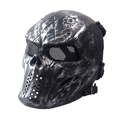 NINAT Airsoft Skull Masks Full Face - Tactical
