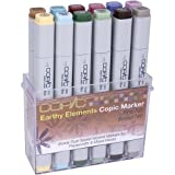 Copic Markers 12-Piece Stamping Earthy Elements Set