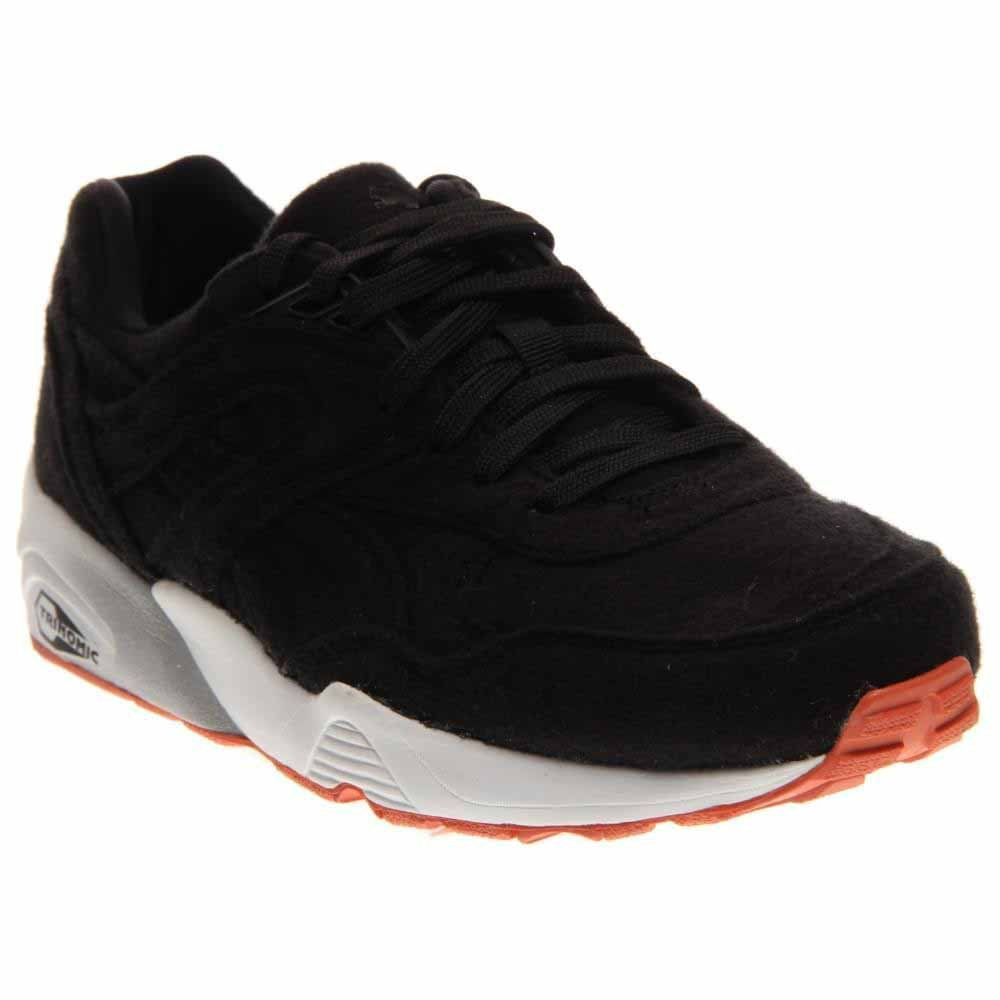 Puma Mens R968 Bright Sneaker Black - Footwear Sneakers 12  Buy Online at  Low Prices in India - Amazon.in 0e63bbd10