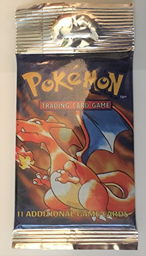 Pokemon Base Set 1 Longpack Booster Pack Charizard Art Sealed -