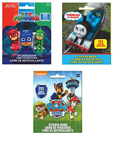 Set of 3 Sticker Books for Kids: Thomas and Friends,, used for sale  Delivered anywhere in USA