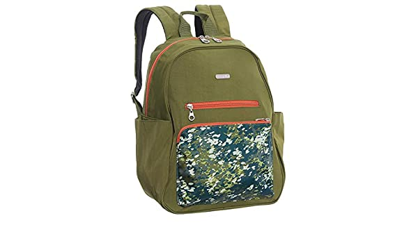 c809573e6 Amazon.com: Baggallini Women's Cargo Backpack with Laptop Pocket Green  Scatter: Everything Else