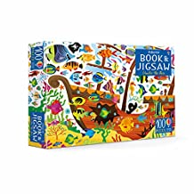 AN USBORNE JIGSAW WITH A BOOK   UNDER THE SEA