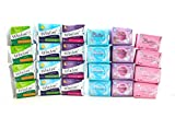 Mix Package Of Winalite Winion Anion Sanitary Napkin + Prettiee ( 4x Day + 4x Night + 4x Panty liner )