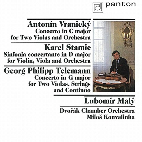 Vranický, Stamic, Telemann: Concertos for Viola and Violin