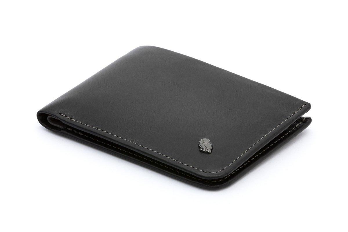 Bellroy Leather Hide & Seek Wallet Black - RFID