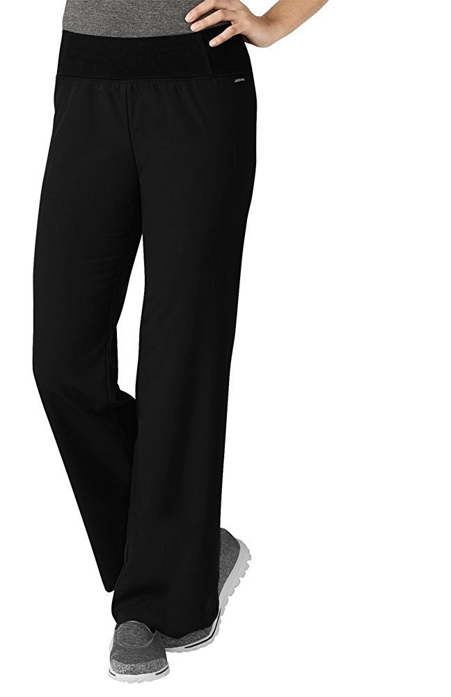 Jockey Women's 2358 Perfected Yoga Pant- Black- Large