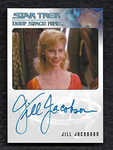 "2018 Rittenhouse Archives Star Trek Deep Space Nine Heroes & Villains Autograph Jill Jacobson as Chalan Aroya""Very Limited"""