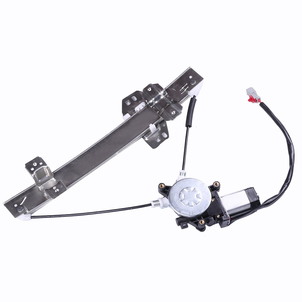 Power Window Regulators Rear Left Drivers Side with Motor Assembly Replacement Parts for 1998-2004 Acura RL ECCPP 106067-5211-1742191