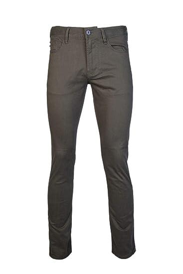 375b1997 Emporio Armani Men Slim Jeans 6Z1J06 1NVEZ Green: Amazon.co.uk: Clothing