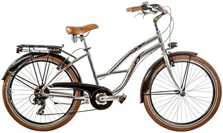 Bicicleta 26 Cruiser aluminio Mujer 7 V brillante a-cr26d Made in ...