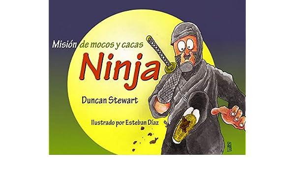 Amazon.com: Misión de mocos y cacas Ninja: (The fluey pooey ...