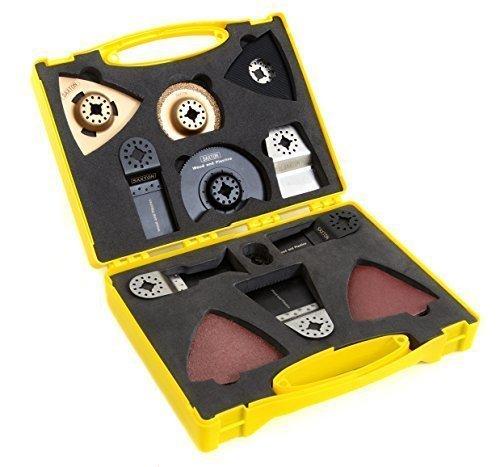 Saxton SH20CS01 - Juego de cuchillas en maletí n, para Fein Multimaster, Bosch y Makita