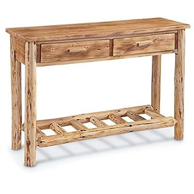 CASTLECREEK Log Sofa Table