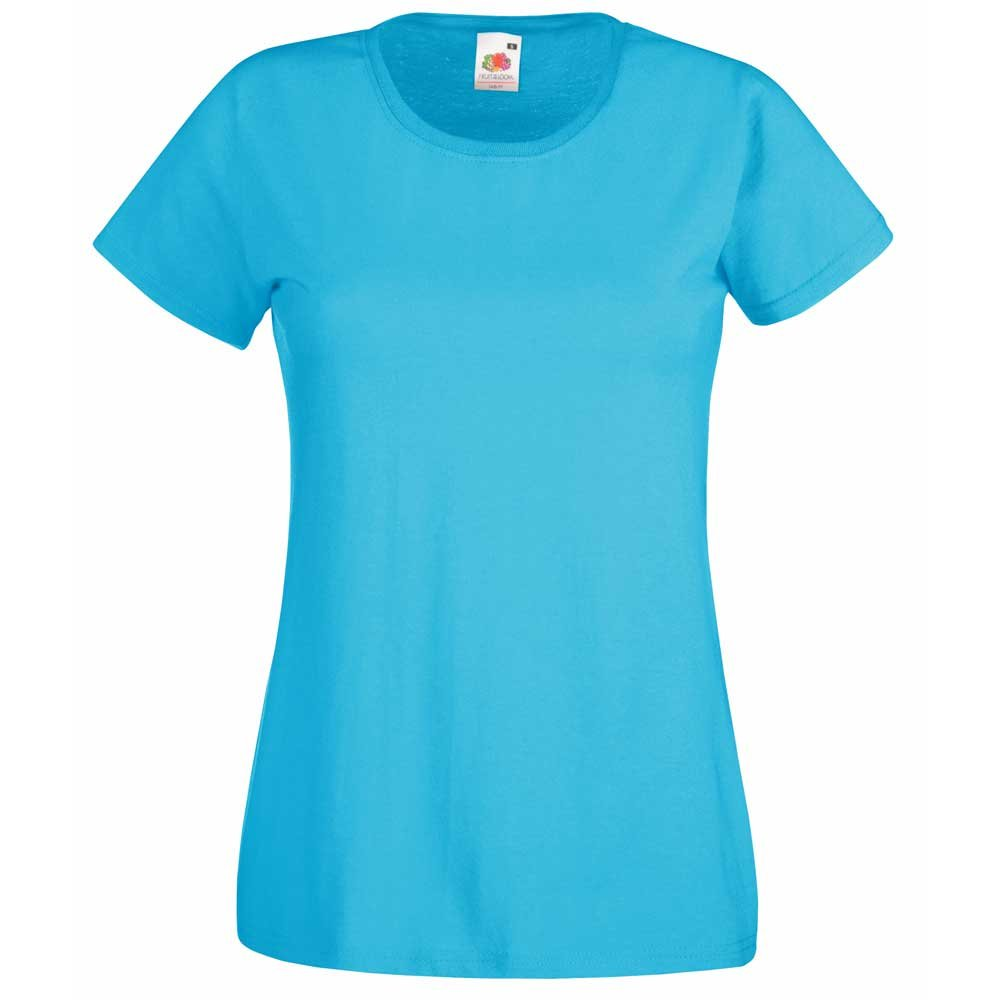 Fruit of the Loom Ladies Fit Valueweight Crew Neck Cotton T-Shirt