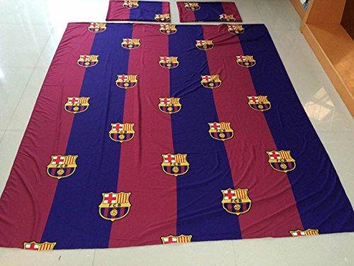 FCBarcelona Full Size 4pc Sheet Set, Navy