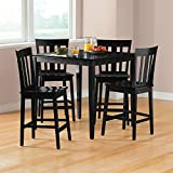 Mainstay 5-Piece Counter Height Dining Set in Free