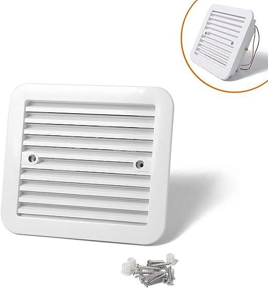 Funnyrunstore Blanco 12V Nevera Salida de ventilación Ventilación ...
