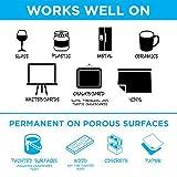 Liquid Chalk Markers for Chalkboard Signs, Blackboards, Glass, Windows - By VersaChalk (Bold, 1 Marker)