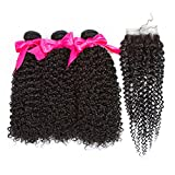 Hair 3 Bundles With Closure Body Wave With Closure Cheap Human Hair Bundles With Closure,12 14 16 with10,Free Part