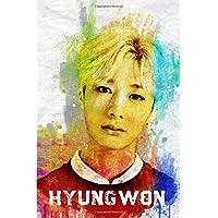 Hyungwon: Monsta X Member Color Splatter Art 100
