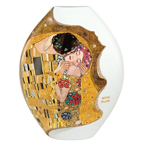 Gustav Klimt The Kiss 31cm Porcelain Vase by Goebel - Limited Edition 66500421
