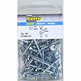 Surebonder FPC86S-100 1/4-inch Steel Medium Rivets (100 per box)