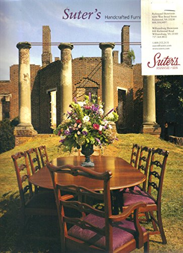 Suter's Handcrafted Furniture Catalog (1999) (Bed Queen Post Pencil)