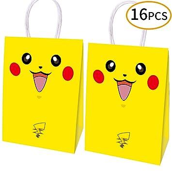 Amazon.com: 16 bolsas de fiesta para videojuegos, bolsas de ...